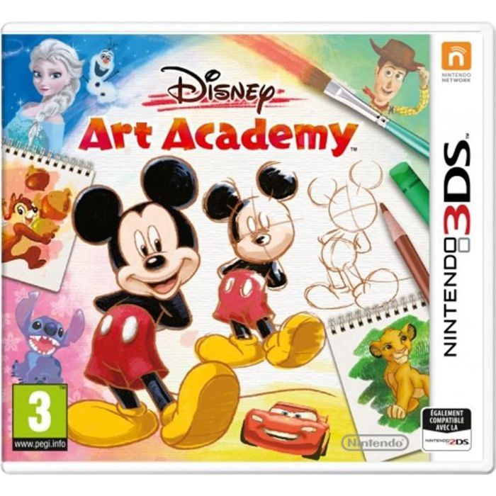 Disney Art Academy Jeu 3DS