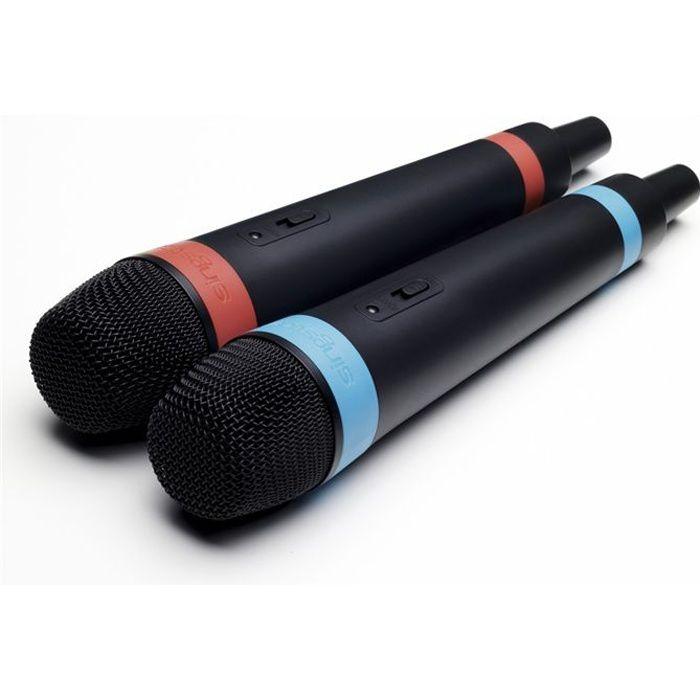 MICROPHONES SINGSTAR SANS FIL / ACCESSOIRE POUR CO
