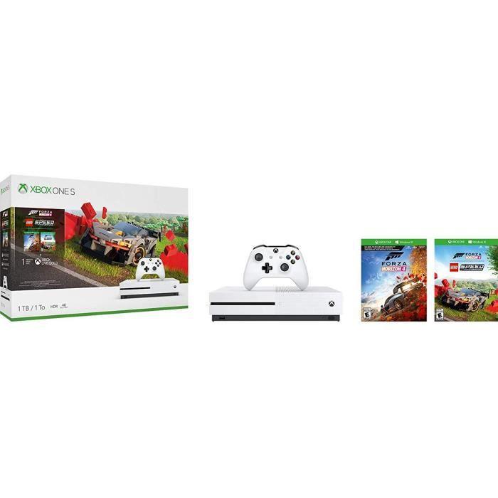 CONSOLE XBOX ONE Xbox One S 1 To Forza Horizon 4 + DLC LEGO + 1 moi