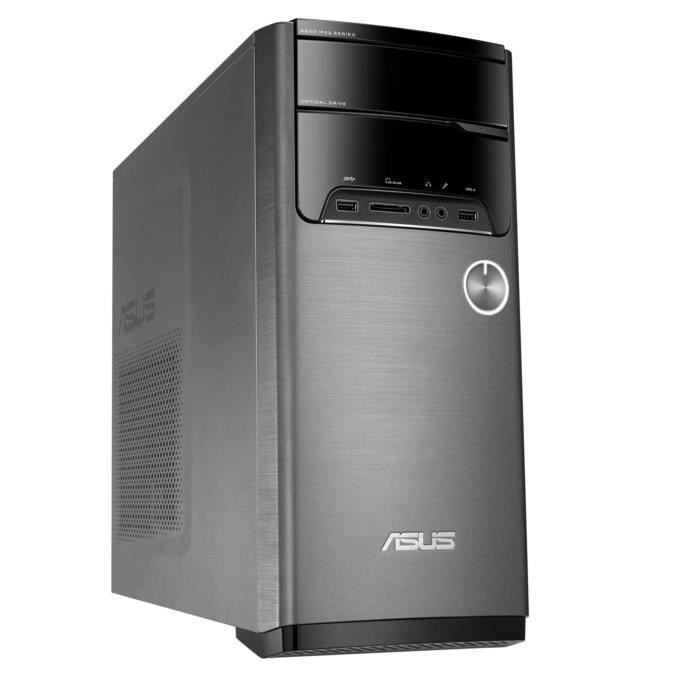 ASUS PC de Bureau M32CD-K-FR111T - 8 Go de RAM - Windows 10 - Intel® Core™ i7-7700 - NVIDIA GeForce GT1030 - Disque Dur 1 To - sans écranUNITE CENTRALE SEULE - MINI PC
