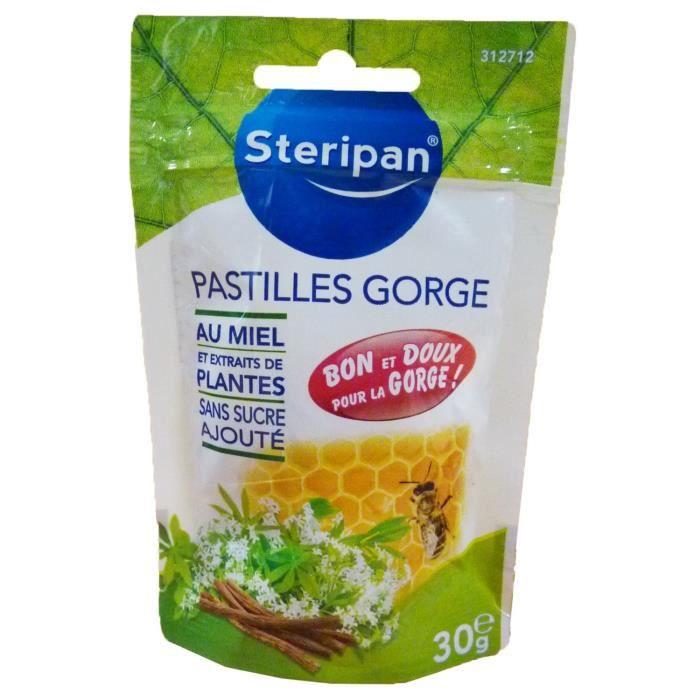 Steripan Aroma Pastilles Gorge 30 g: Hygiène et Soins du corps