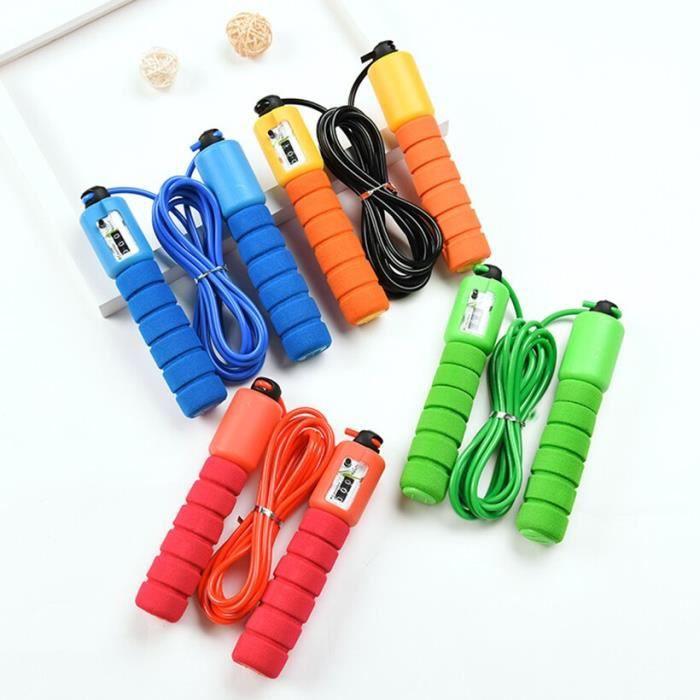 Accessoires Fitness - Musculation,Enfant adulte comptage corde à sauter vitesse corde à sauter entraînement équipement - Type Red