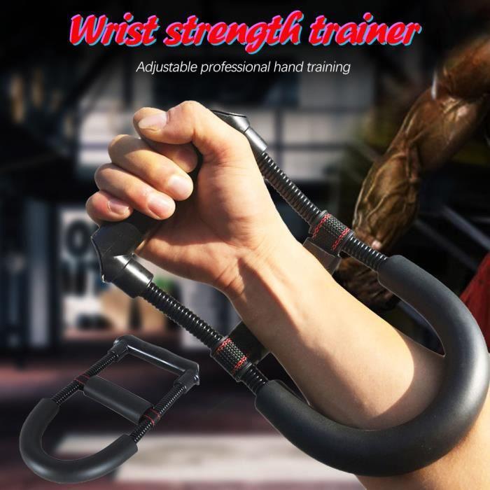 muscle avant-bras poignet poignée haute élasticité réglable Force de l'exercice poignée Miaienu 1301