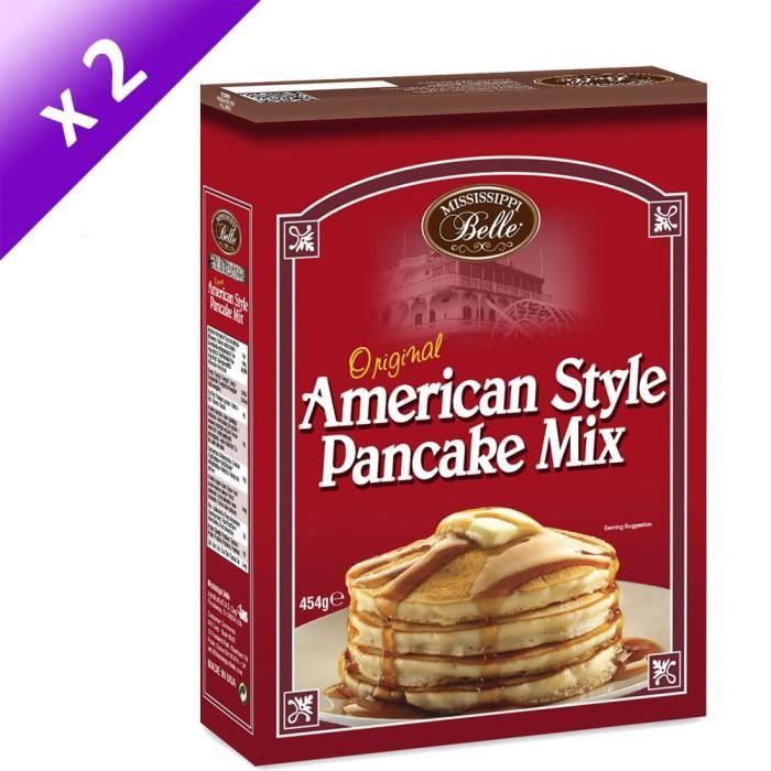 [LOT DE 2] MISSISSIPPI BELLE Mix Pancake - 454 g