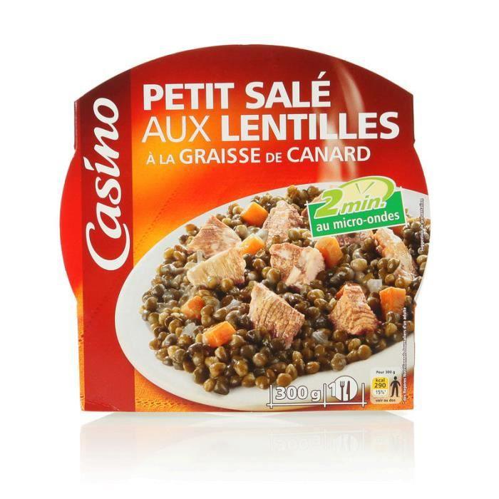Petit Salé Lentille 300 g