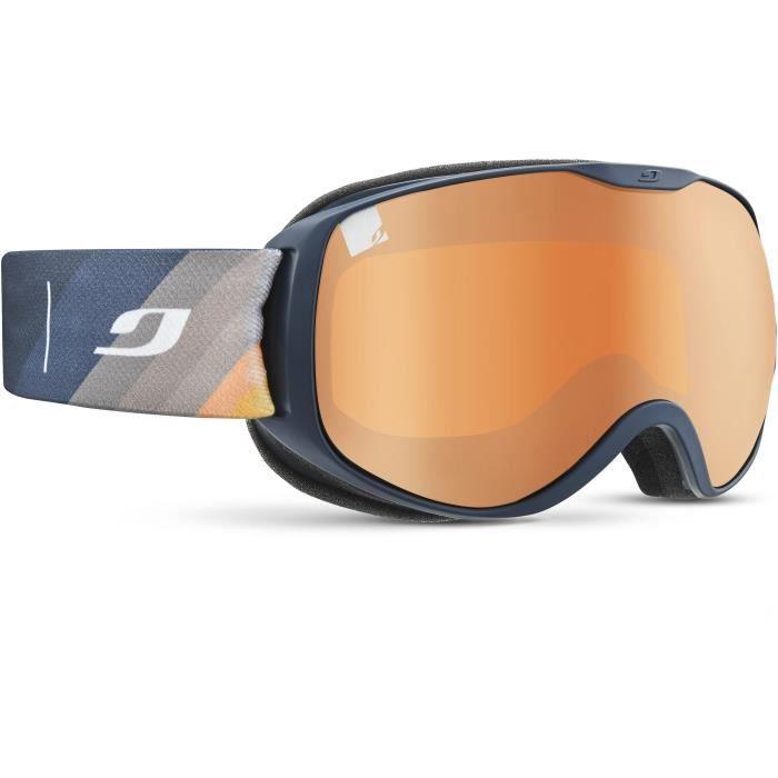 JULBO Masque de Ski Pioneer - Bleu Sombre Cat3