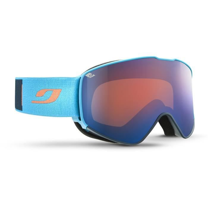 JULBO Masque de Ski Alpha - Bleu Cat3