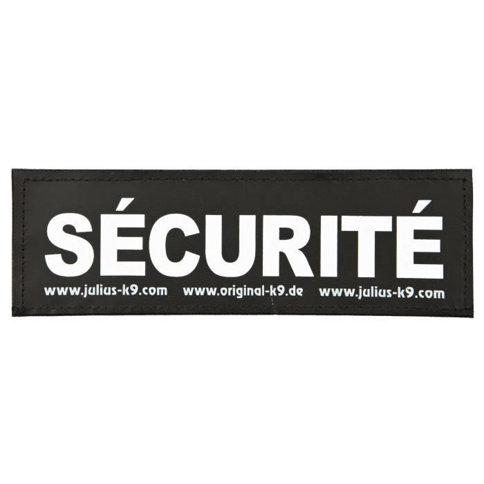 TRIXIE 2 Stickers Velcro Julius-K9 - L - Security - Pour chien