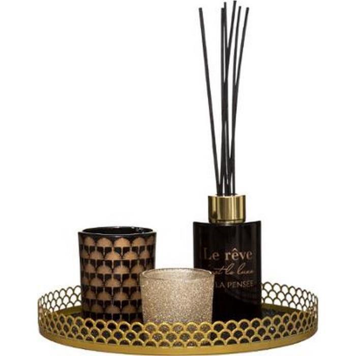 Coffret parfumé senteur Arabesque Vanille & Ambre