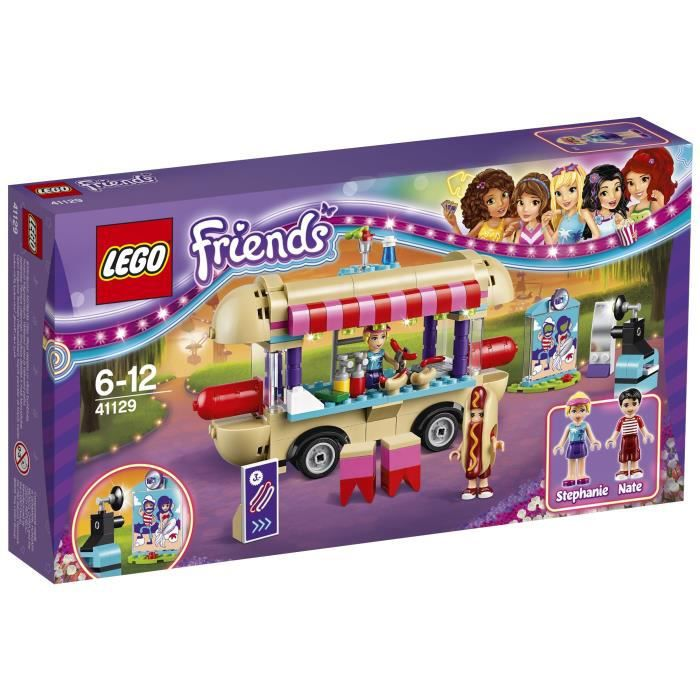 LEGO® Friends La Camionnette à hot-dogs du Parc