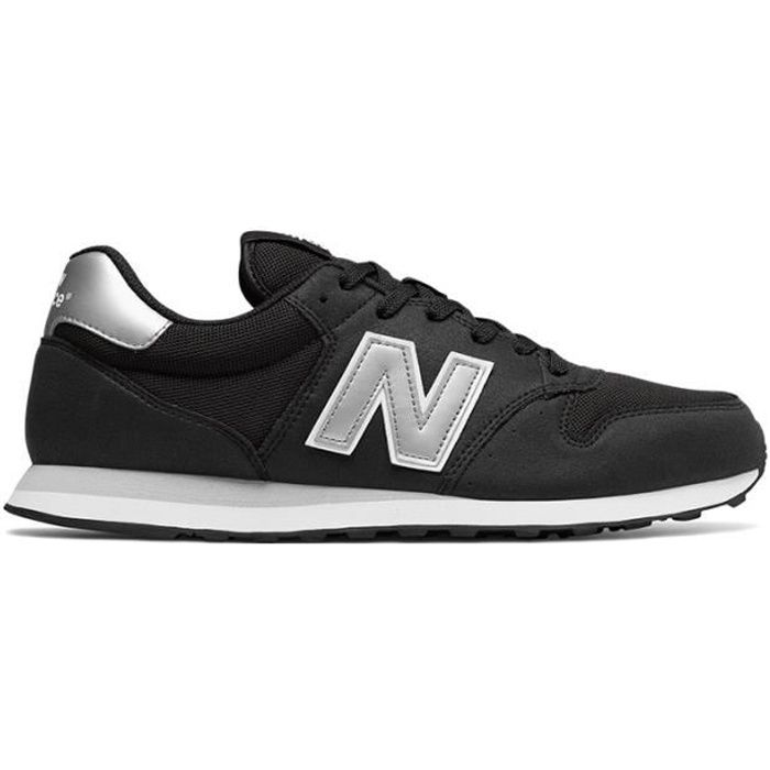 Chaussures New Balance GM 500 noir gris blanc