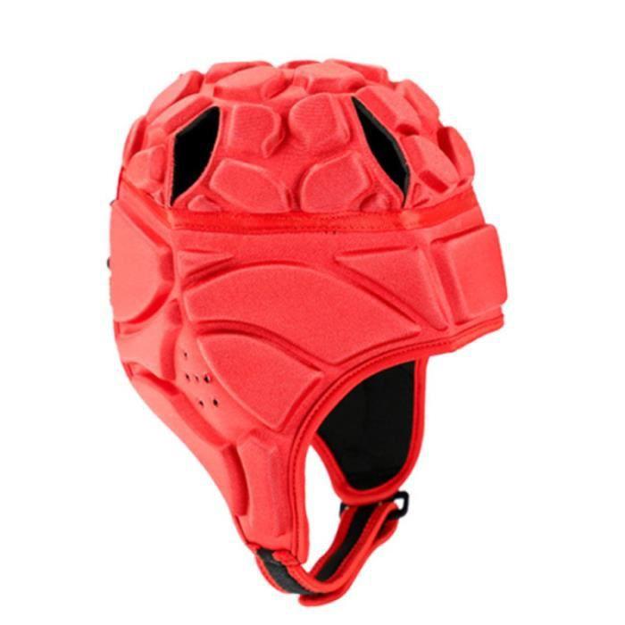 1 PC Mode Durable Football Gardien De Hockey Rugby Roller Patinage Casque (Rouge Taille XL) VESTE DE SPORT - CACHE-CŒUR DE SPORT