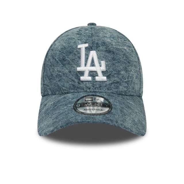 Casquette New Era Dipped Denim NBA Los Angeles Dodgers - bleu jean - TU