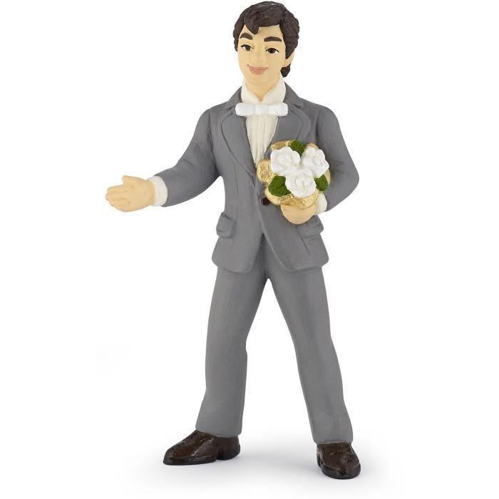 PAPO Figurine Marié au bouquet Pour Enfant