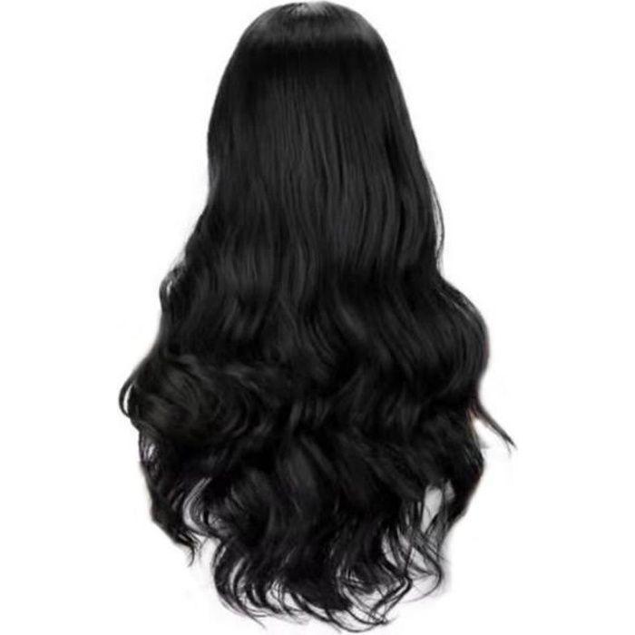 Lace Front perruque Big Body Brésilien alter- nances Tête longue perruque synthétique Simulation cheveux