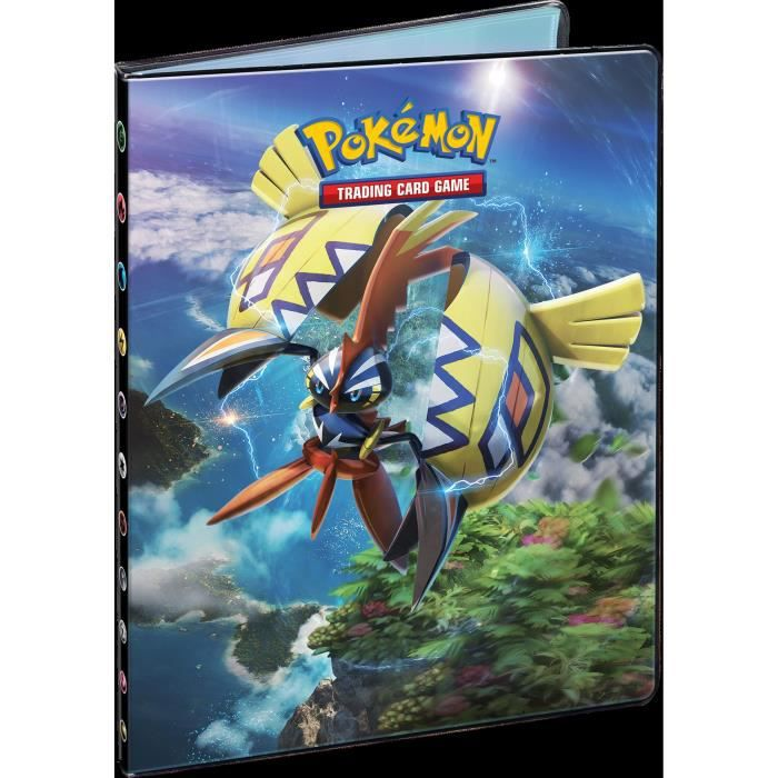 cahier range carte pokemon POKEMON   Soleil et Lune 2   Cahier Range Cartes A4 SL02