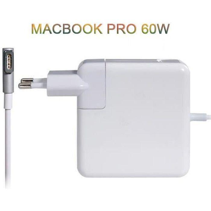 Chargeur Alimentation 5 Pin Pour Macbook Pro 60w Prix Pas Cher Cdiscount
