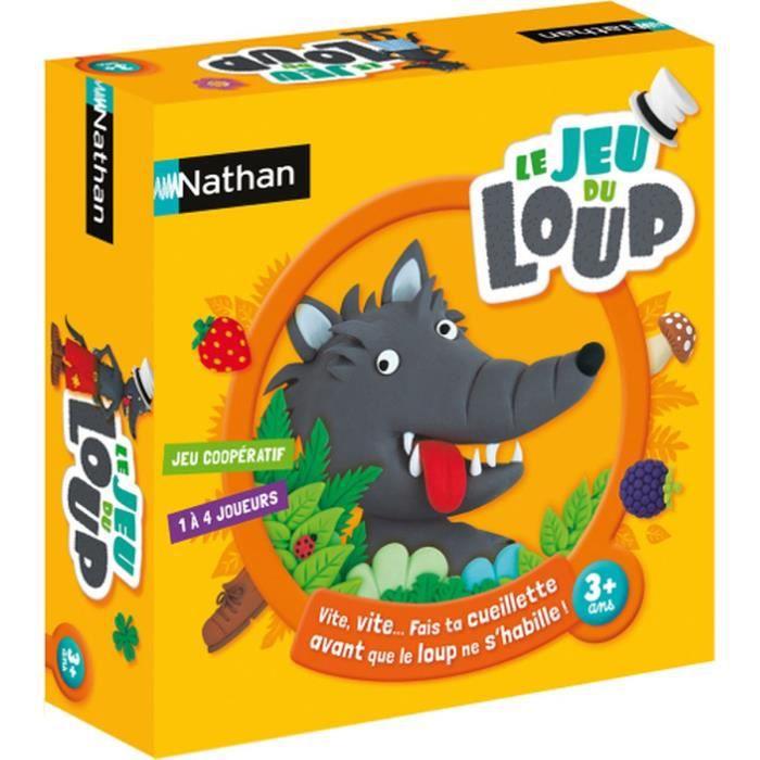 Nathan Le Jeu Du Loup Jeu De Societe Cdiscount Jeux Jouets