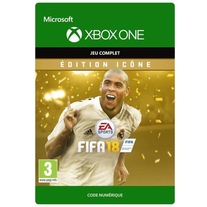 JEU XBOX ONE À TÉLÉCHARGER FIFA 18 Edition Icon Jeu Xbox One à télécharger