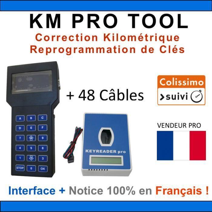COMMANDER 5.5 Correction KM Reprogrammation clés Ajout d/'options