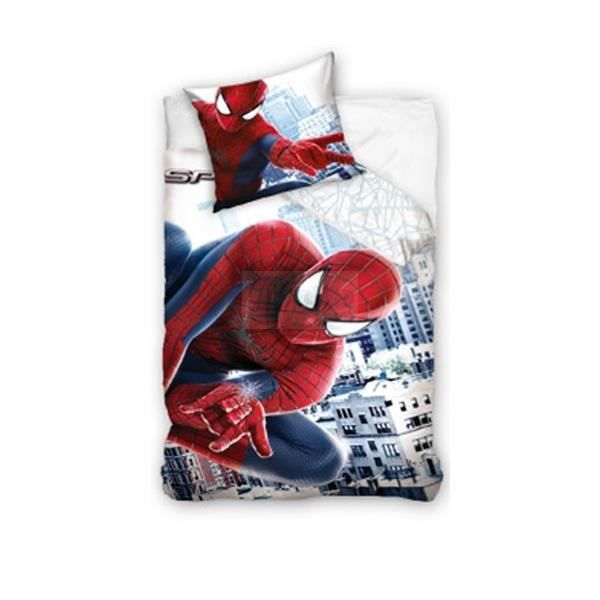parure de lit spiderman parure lit spiderman sur enperdresonlapin. Black Bedroom Furniture Sets. Home Design Ideas