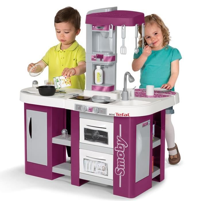 smoby cuisine enfant studio xl mini tefal achat vente dinette cuisine cdiscount. Black Bedroom Furniture Sets. Home Design Ideas