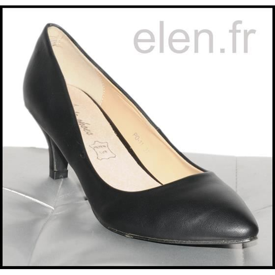 Escarpins noirs STYLE SHOES Ref: 0375