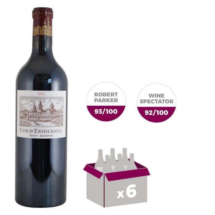 Cos d'Estournel 2012 Saint-Estèphe Grand Cru - Vin rouge de Bordeaux