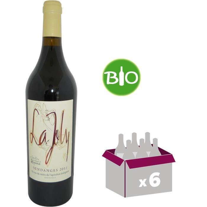 La Joly 2012 - Vin de Bordeaux Supérieur - Rouge - 75 cl x 6