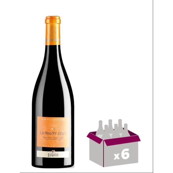 Le Saint Jean 2012 Pinot Noir - Vin rouge du Languedoc