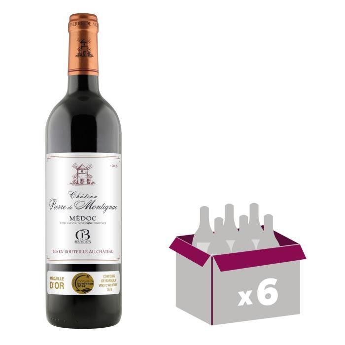 Château Pierre de Montignac 2012 Médoc Cru Bourgeois - Vin rouge de Bordeaux