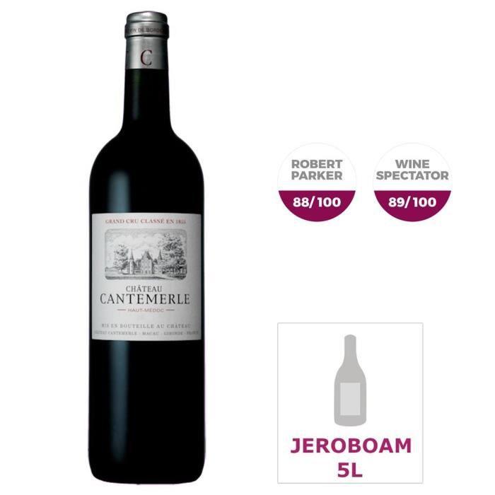 Jéroboam Château Cantemerle 2012 Haut-Médoc Grand Cru - Vin rouge de Bordeaux