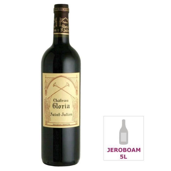 Jéroboam Château Gloria 2012 Saint-Julien - Vin rouge de Bordeaux