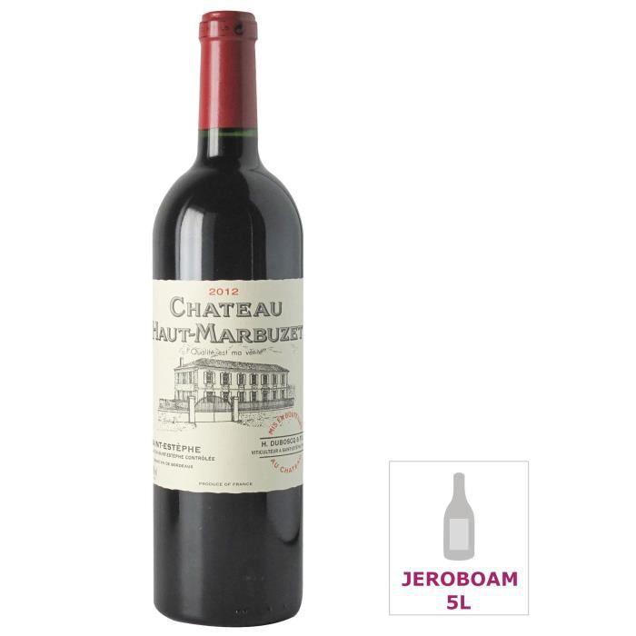 Jéroboam Château Haut-Marbuzet 2012 Saint-Estèphe - Vin rouge de Bordeaux