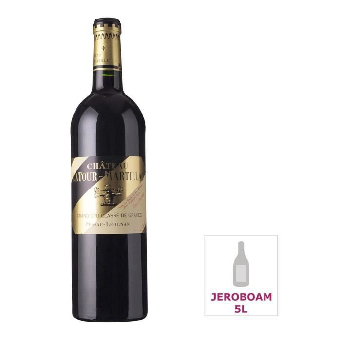 Jéroboam Château Latour-Martillac 2012 Pessac-Léognan Grand Cru - Vin rouge de Bordeaux