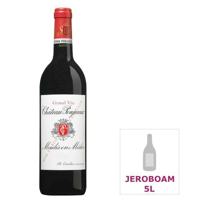 Jéroboam Château Poujeaux 2012 Moulis-en-Médoc - Vin rouge de Bordeaux