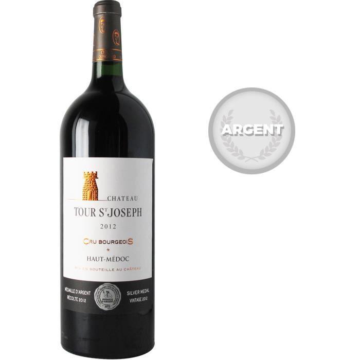 Magnum Château Tour Saint Joseph 2012 Haut-Médoc Cru Bourgeois - Vin rouge de Bordeaux