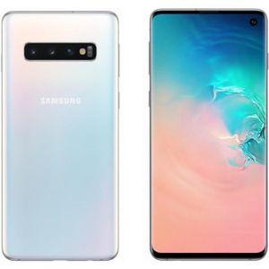 SMARTPHONE Samsung Galaxy S10 512 go Blanc - Double sim
