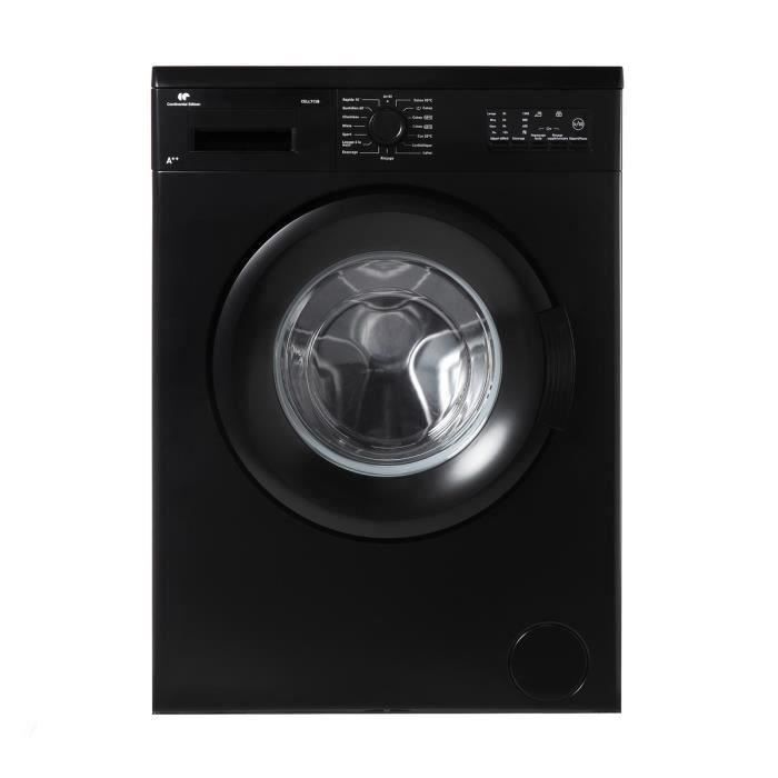 continental edison ll712b lave linge frontal 7kg a. Black Bedroom Furniture Sets. Home Design Ideas