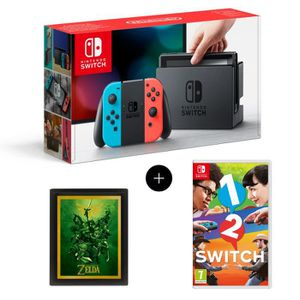 nintendo switch achat vente nintendo switch pas cher cdiscount. Black Bedroom Furniture Sets. Home Design Ideas