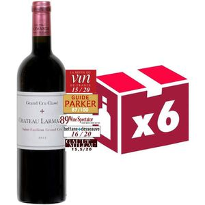 VIN ROUGE Chateau Larmande Saint Emilion Grand Cru Classé 20