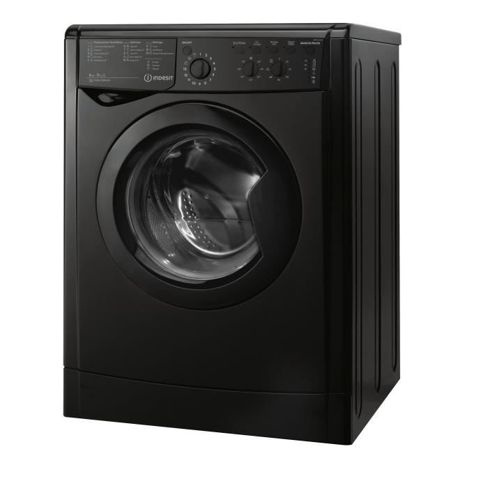 indesit iwdc6125k lave linge s chant lav 6kg s ch. Black Bedroom Furniture Sets. Home Design Ideas
