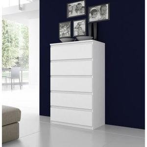 commode kullen blanc. Black Bedroom Furniture Sets. Home Design Ideas