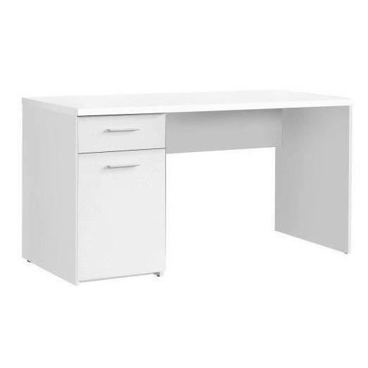 finlandek bureau ty classique blanc l 140 cm achat vente bureau ty bureau 140 cm blanc. Black Bedroom Furniture Sets. Home Design Ideas