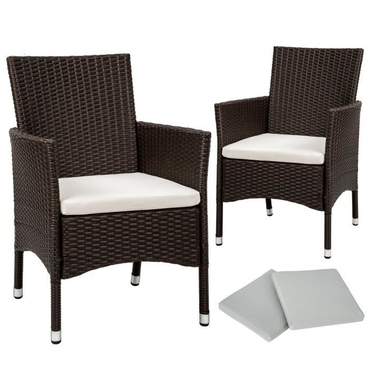chaises fauteuil jardin resine beige achat vente. Black Bedroom Furniture Sets. Home Design Ideas