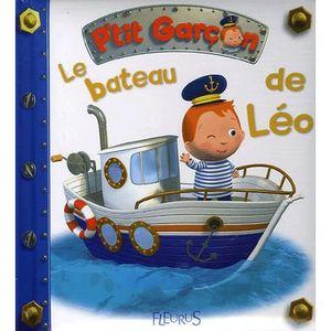 LIVRE 0-3 ANS ÉVEIL Le bateau de Léo