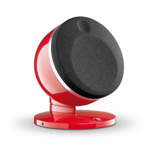 FOCAL DOME 1.0 Enceinte satellite HiFi rouge