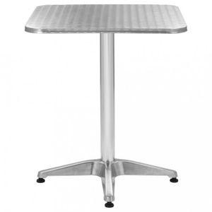 SALON DE JARDIN  Tables d'exterieur  Table de jardin carree Alumini