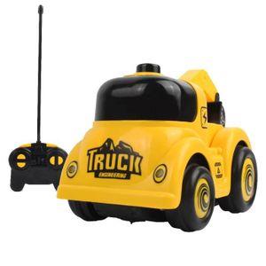 JEU D'APPRENTISSAGE 01:20 2.4G télécommande Cartoon camion constructio