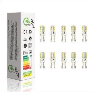 AMPOULE - LED 10X G9 Ampoule LED 5W Super Lumineux LED Bulb 48 S